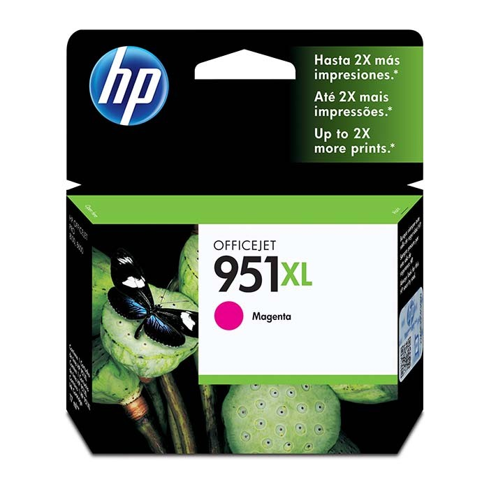CARTUCHO DE TINTA OFFICEJET MAGENTA HP 950 XL HP 8610, 8620, 8100, 251DW