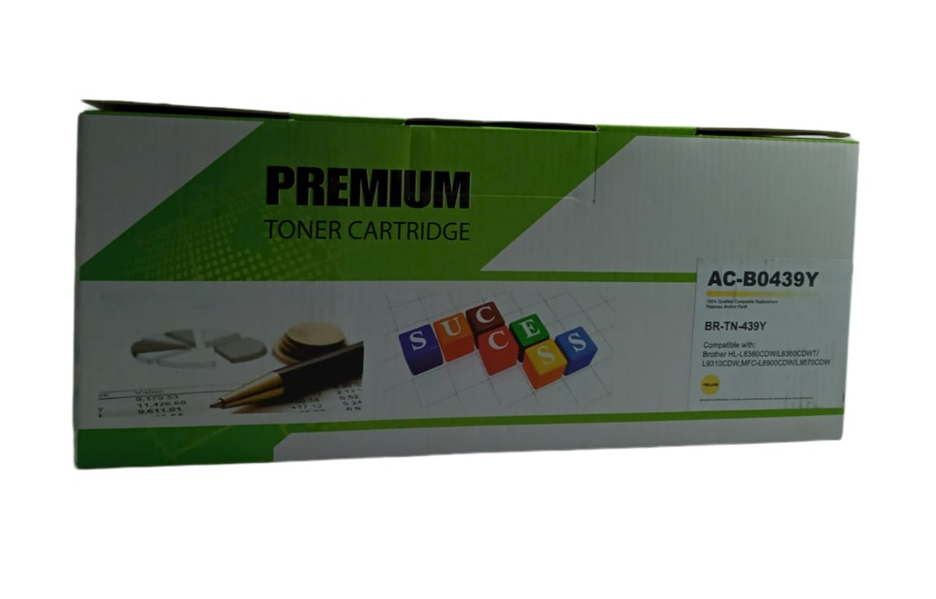 CARTUCHO DE TONER AMARILLO BROTHER MFC L9570CDW GENERICO PRE